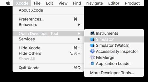 xcode-start-simulator