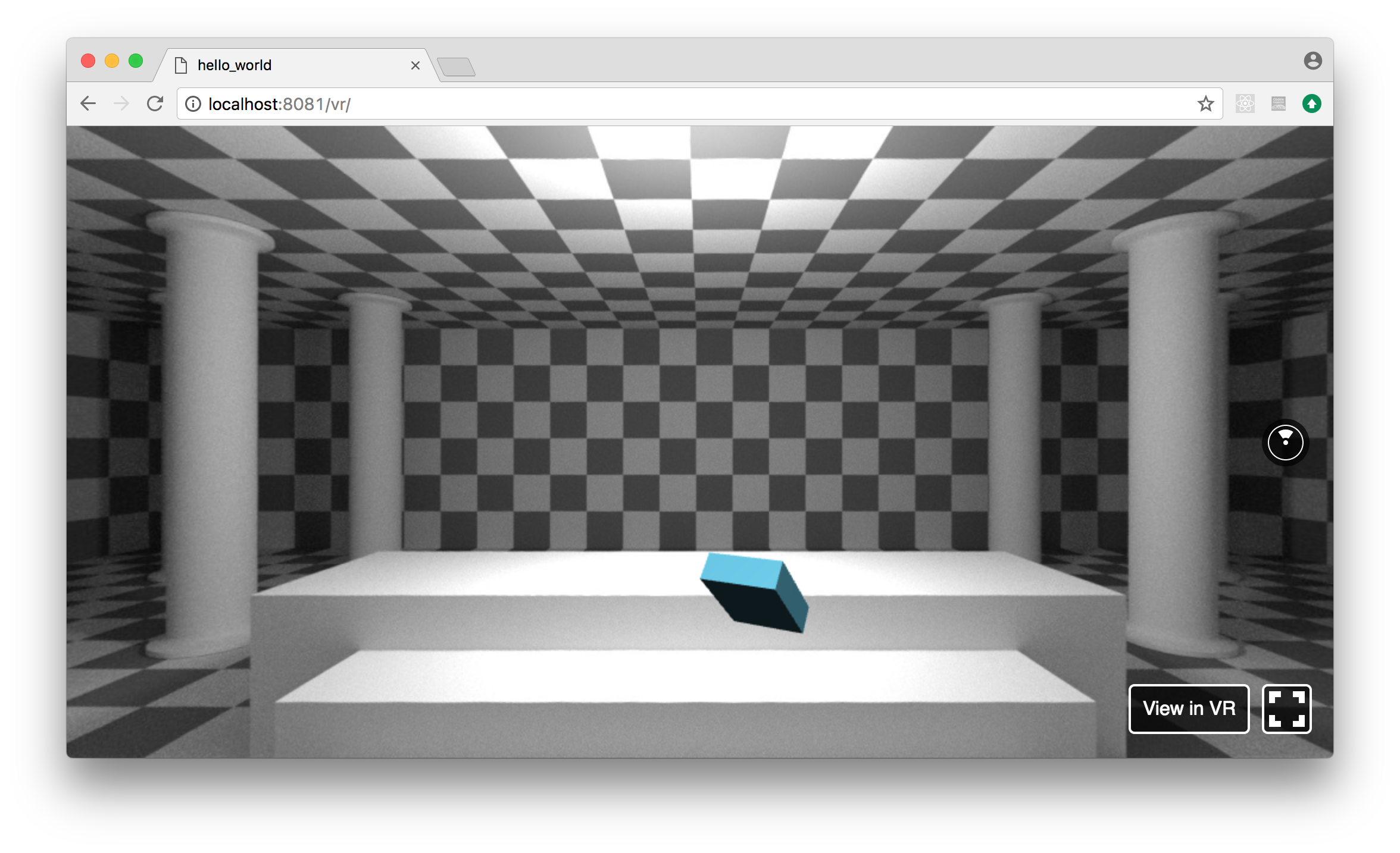 screen shot cube