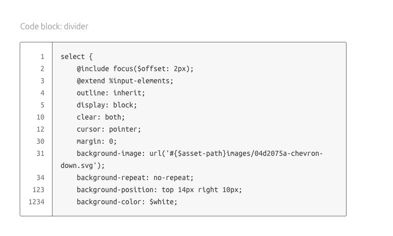 8-code block proposal divider dark