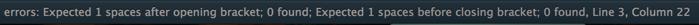 SublimeLinter-phpcs error