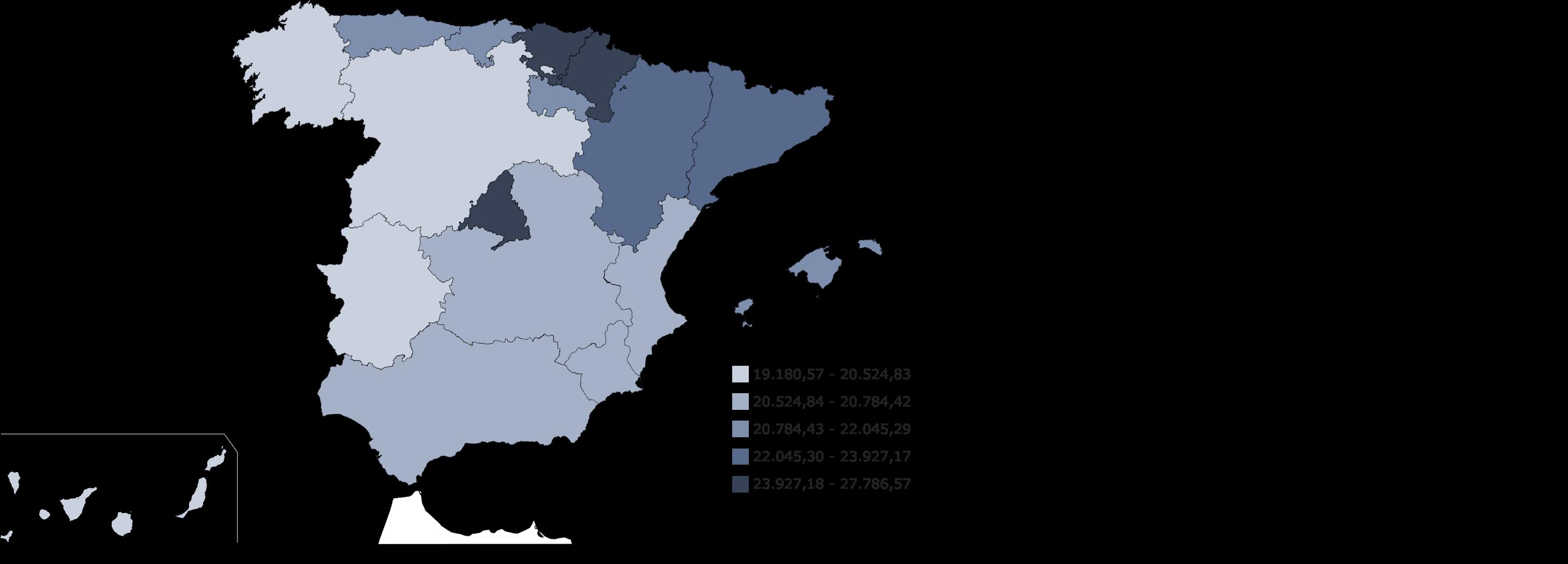 mapa salario medio