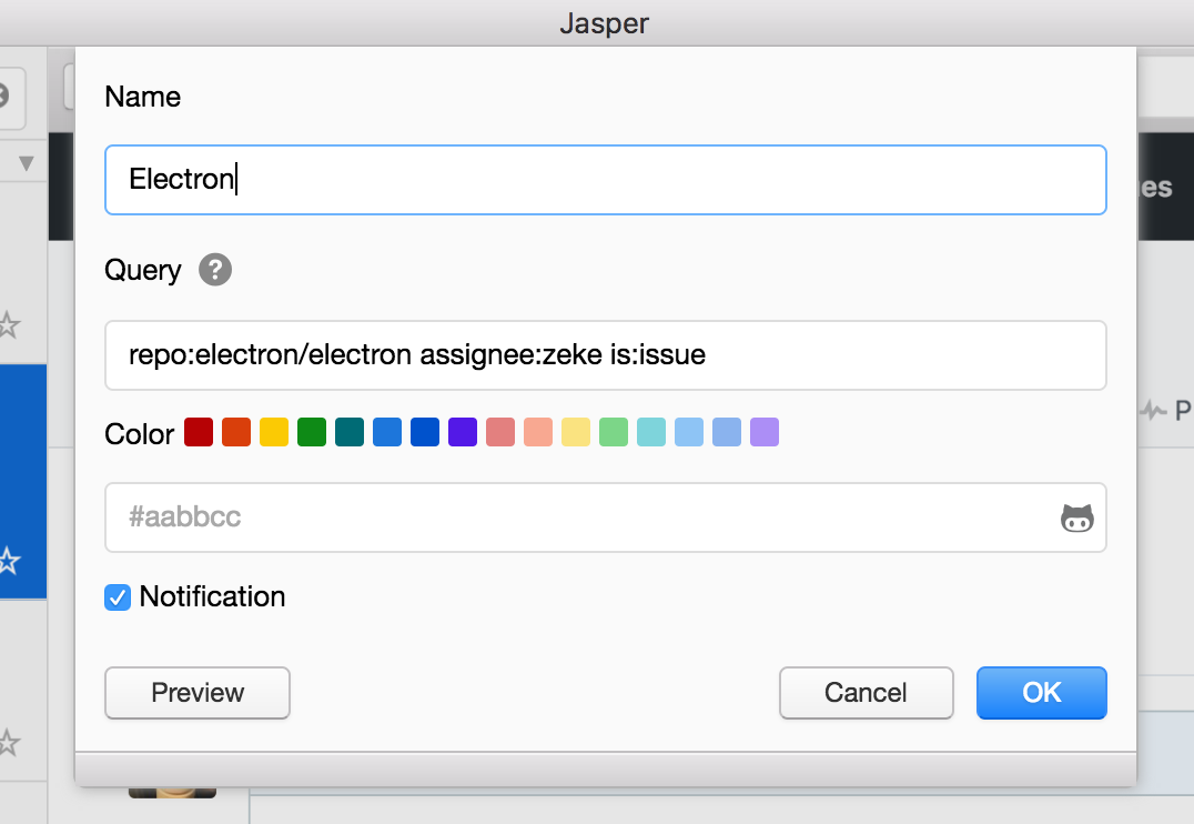 Jasper Start Screen 2