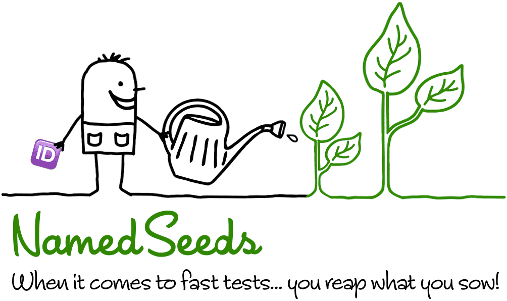 NamedSeeds - When it comes to fast tests... you reap what you sow!