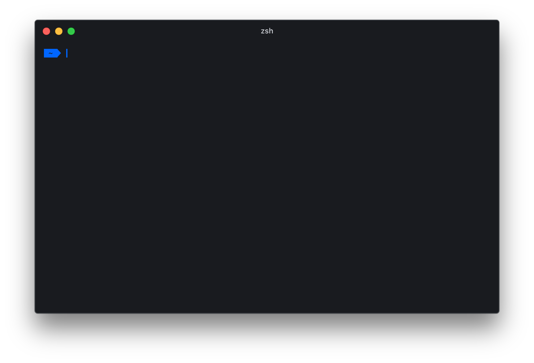 Screenshot at start