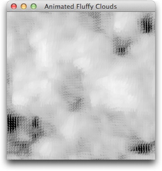 Animated Fluffly Clouds