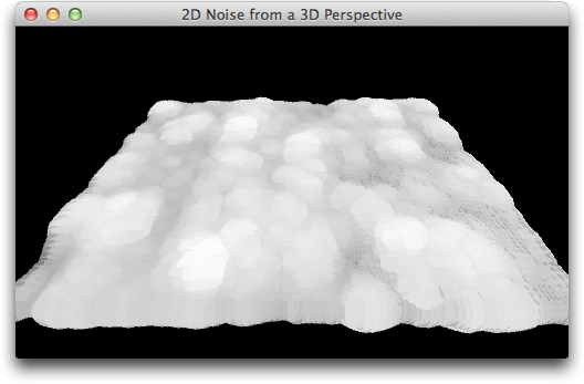 Noise from a 3D Perspective
