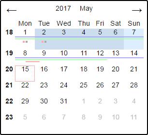 vue-calendar-picker screenshot