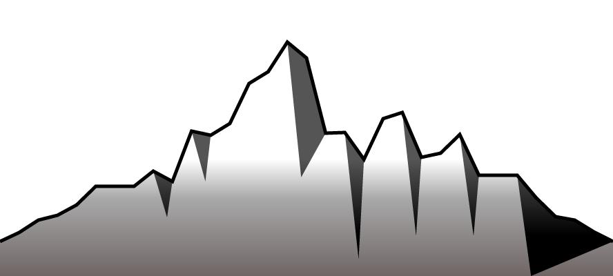 sample mountain range image