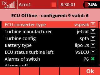 alarm - ecu offline
