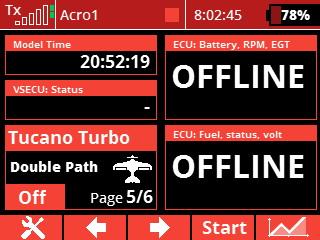 display - ecu offline