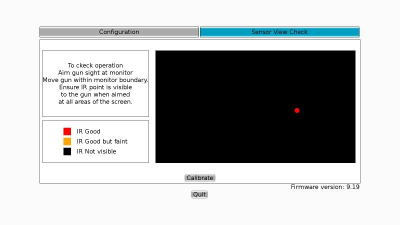 Sensor View Panel