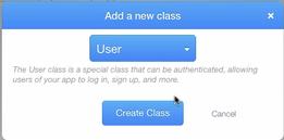 Create user class