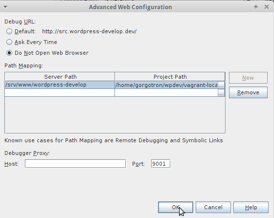 Advanced Web Configuration