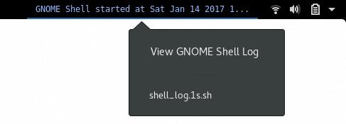 Shell Log