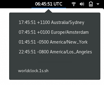World Clock/Argos