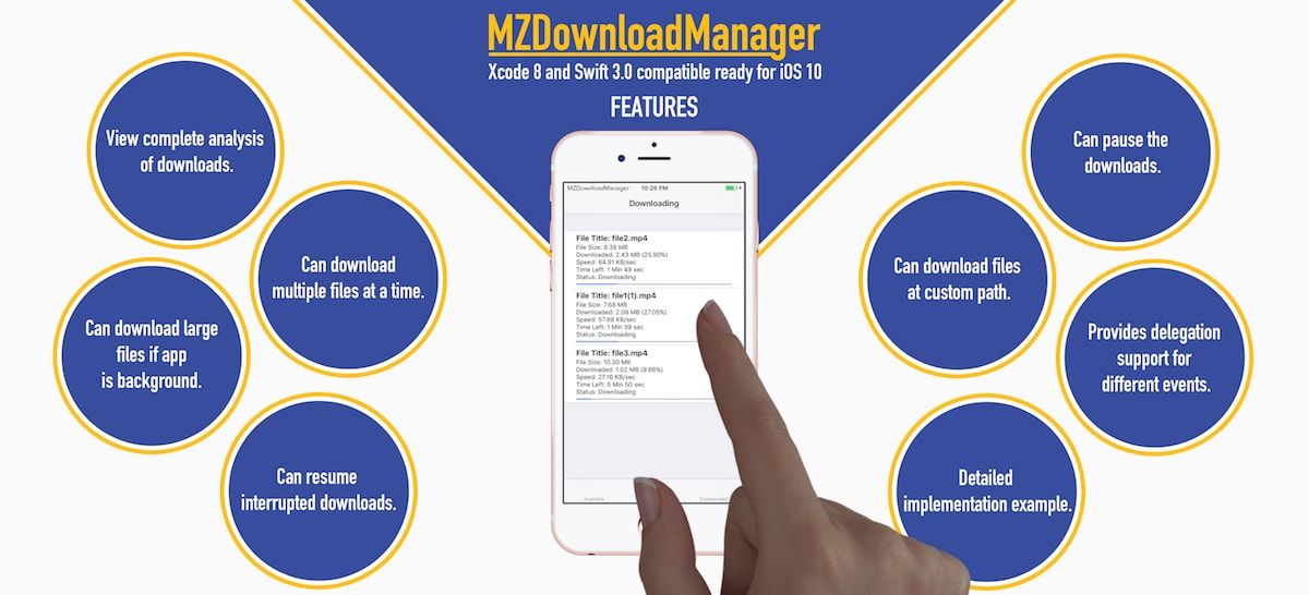 mzdownload manager hero