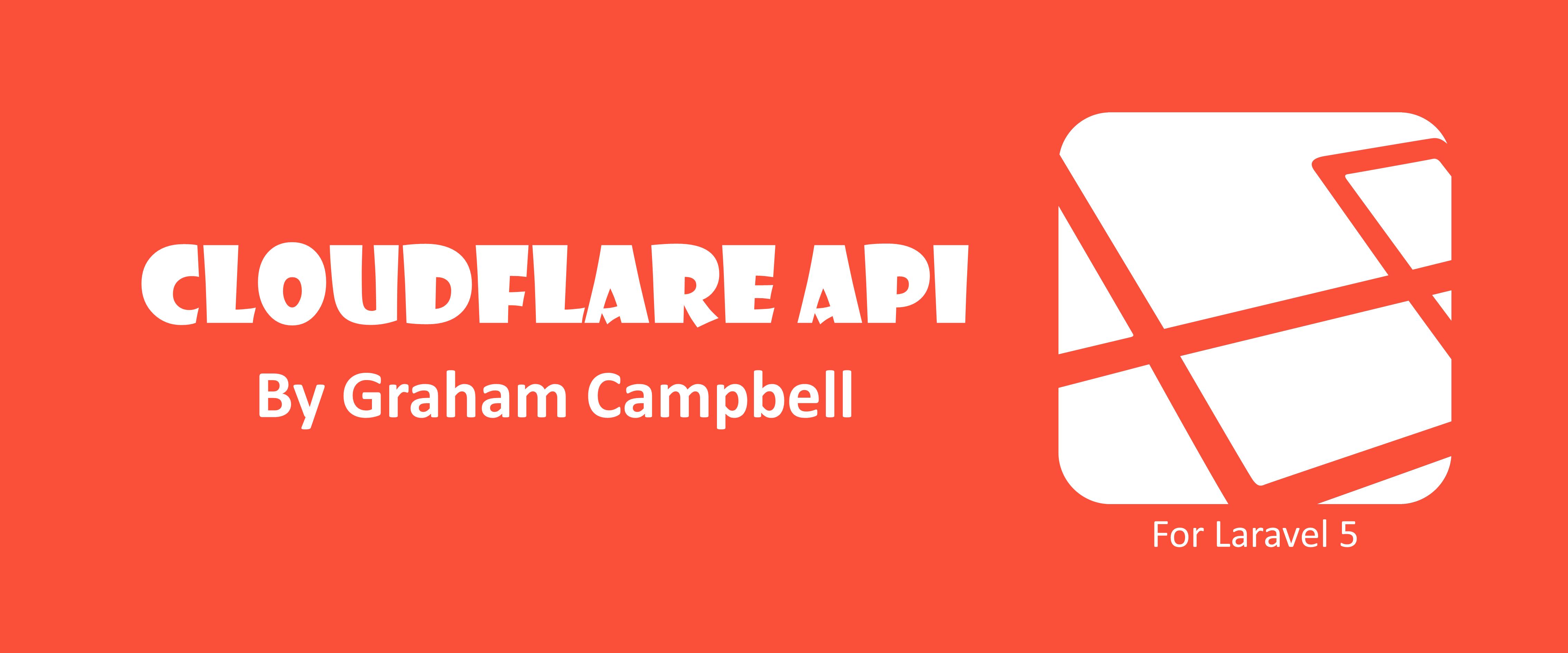 Laravel CloudFlare API