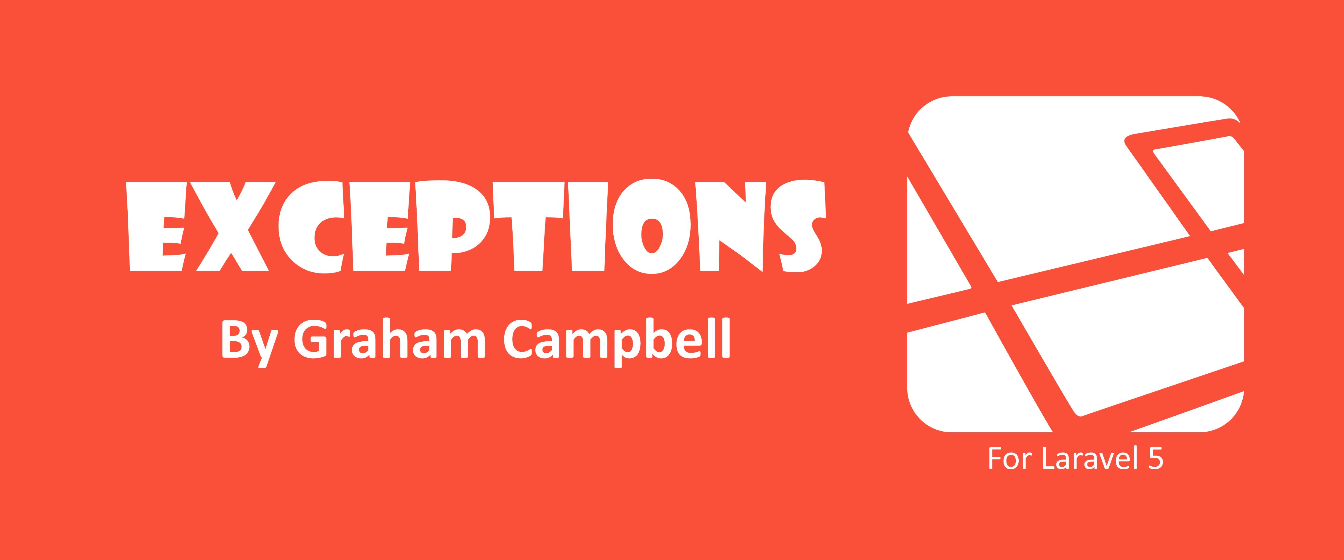 Laravel Exceptions