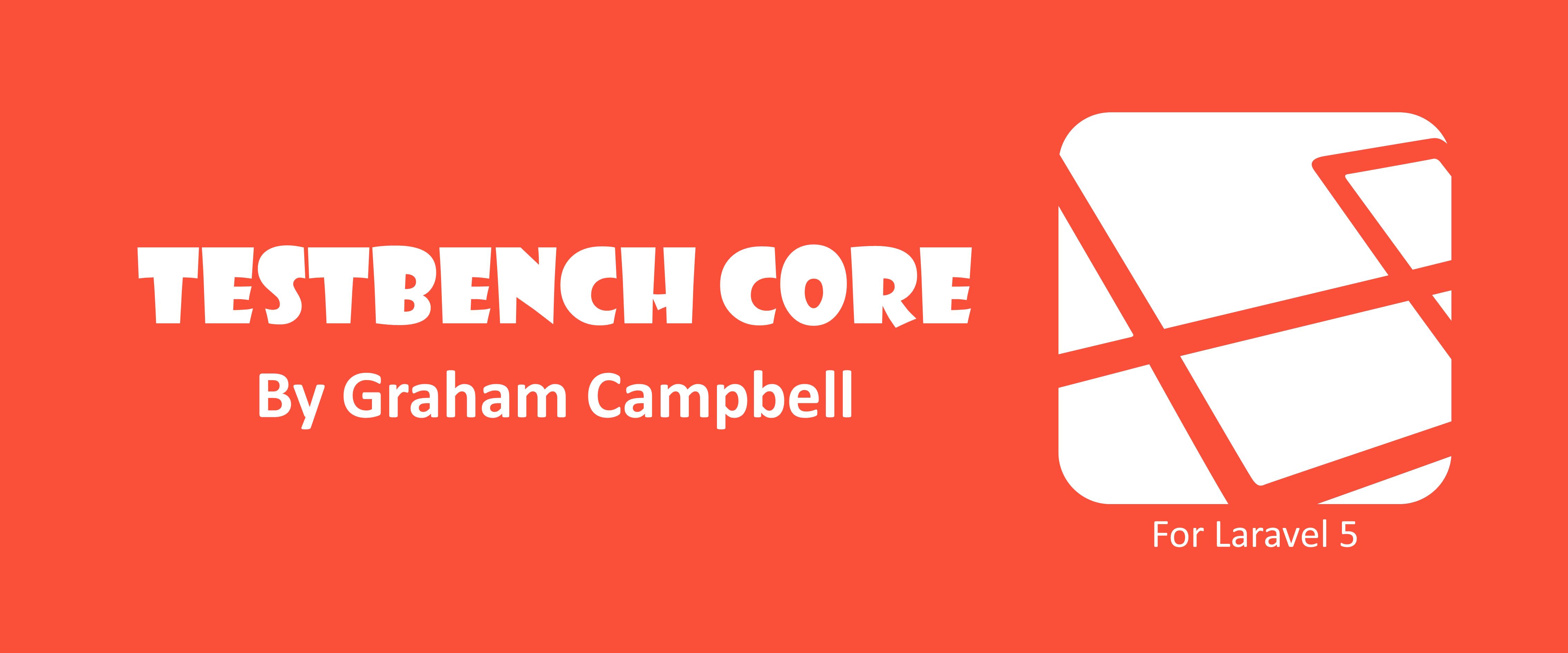 Laravel TestBench Core