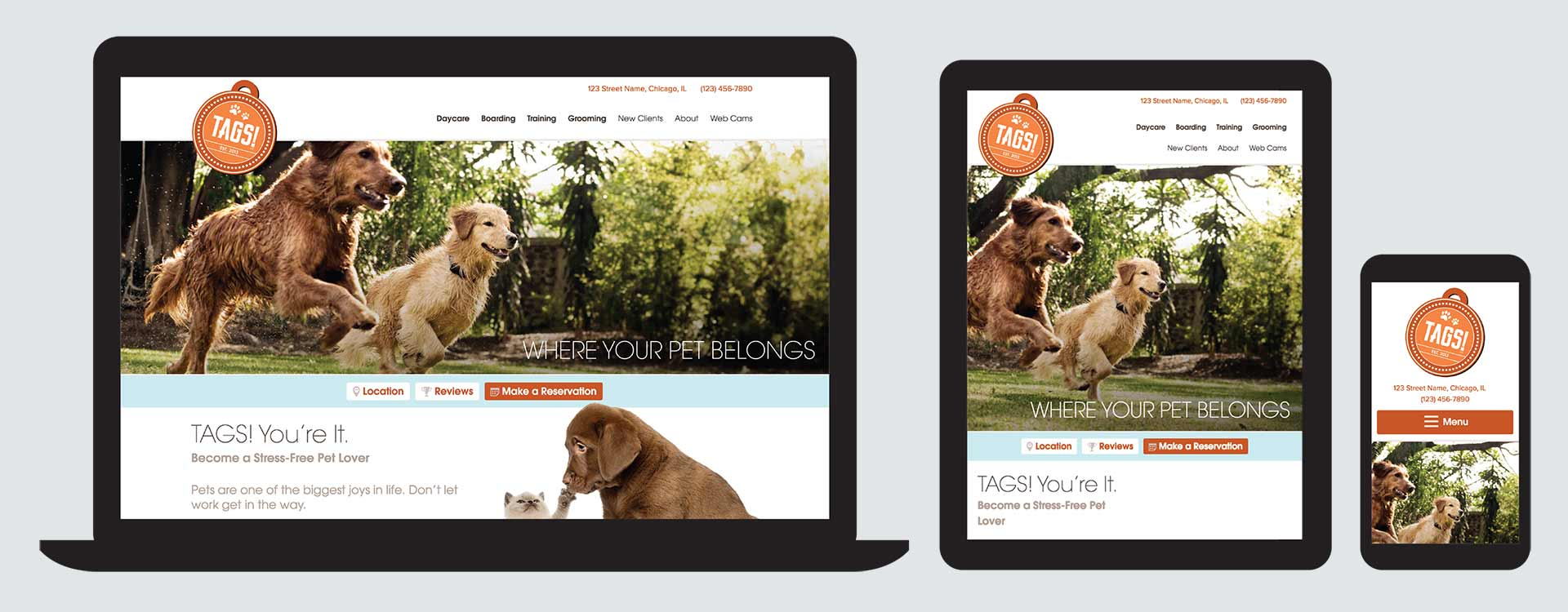 TAGS! Pet Care Club screenshots