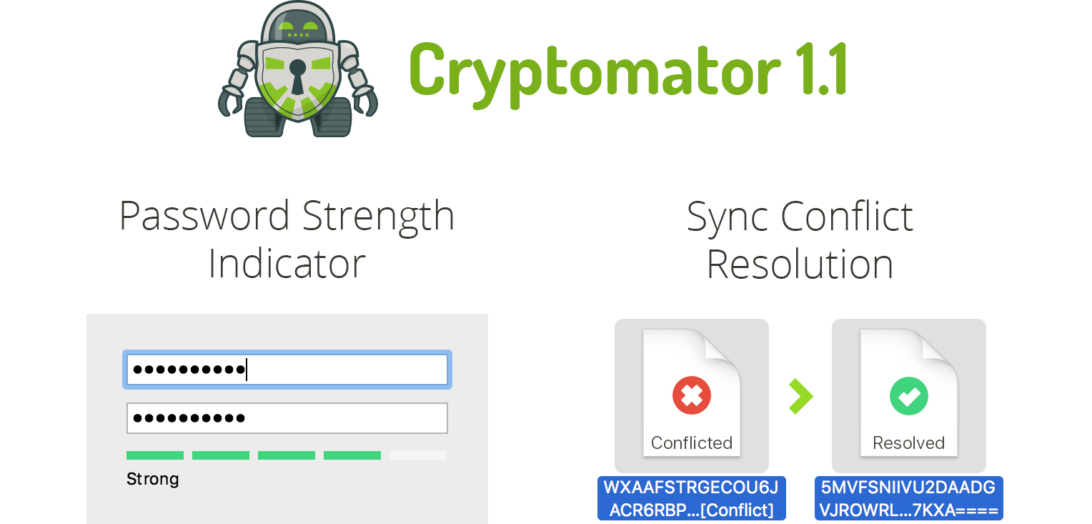 cryptomator 1-1