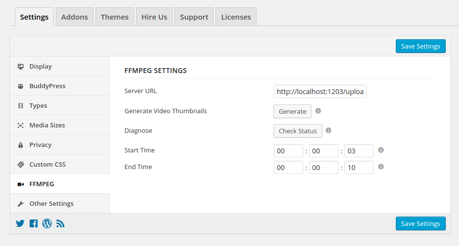 rtmedia-ffmpeg-admin-settings