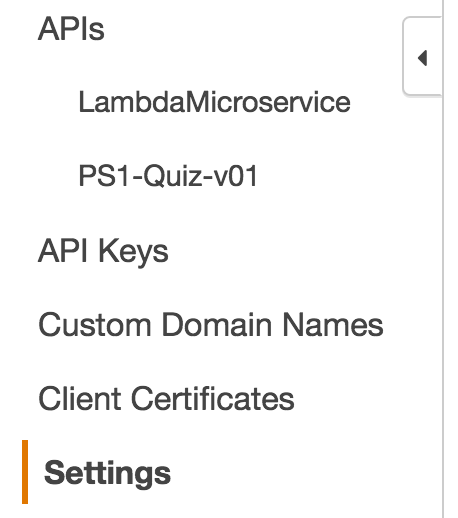 aws api left menu 2016-06-03