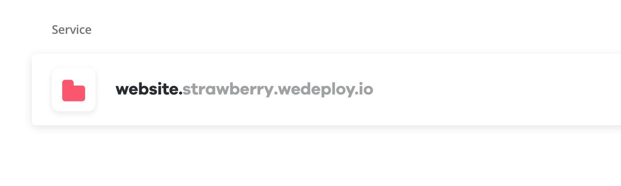 URL Generated