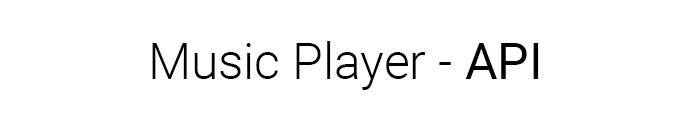 music player api