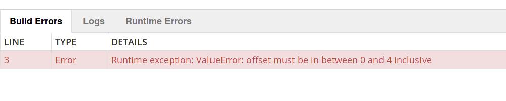 week-error