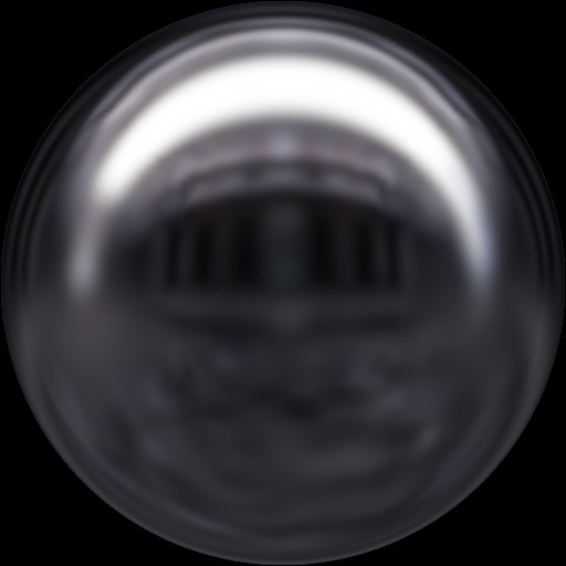 fastbluredsphere