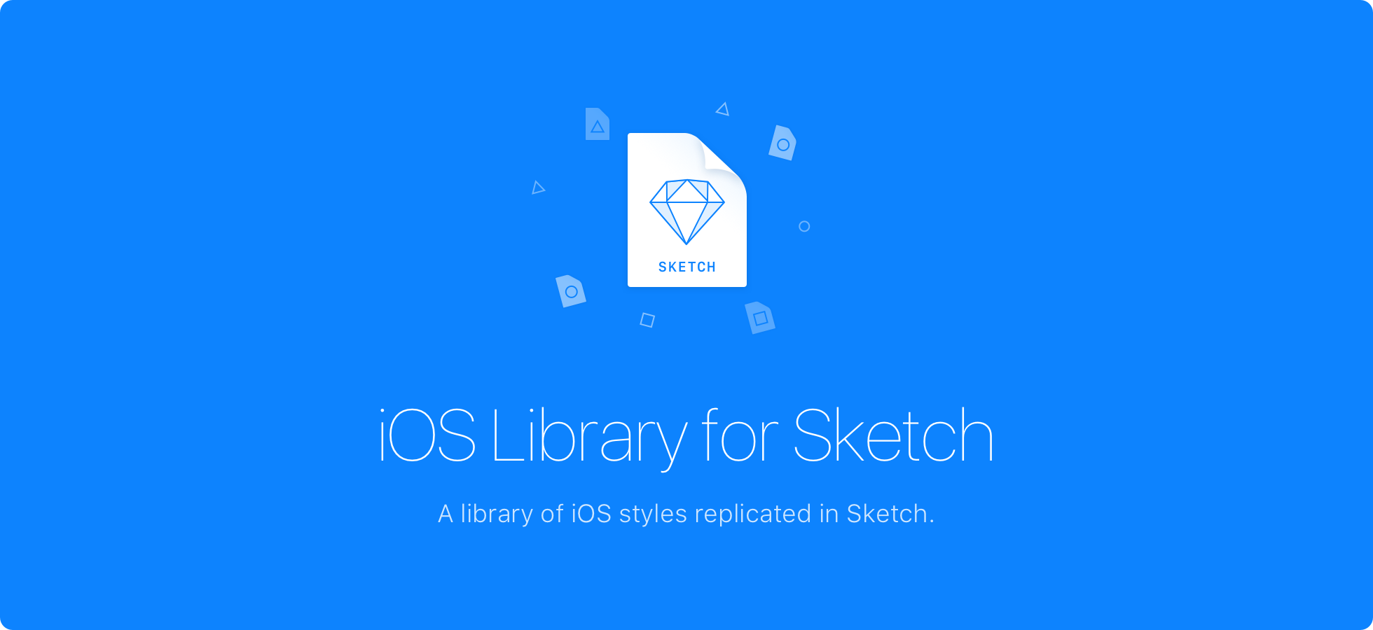 iOS Library Xcode Styles in Sketch