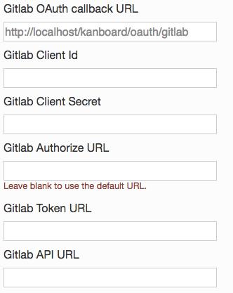 GitLab Auth Settings