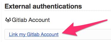 GitLab Link Account