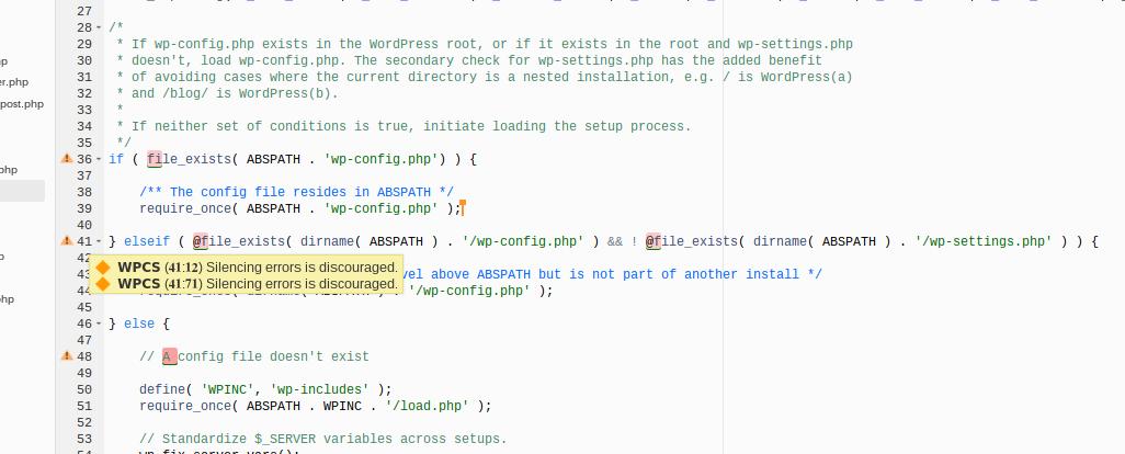 WordPress Coding Standards Linter for Cloud9