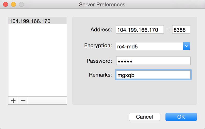 Mac 客户端配置