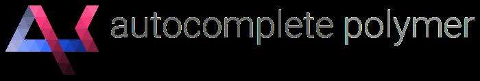 polymer autocomplete logo