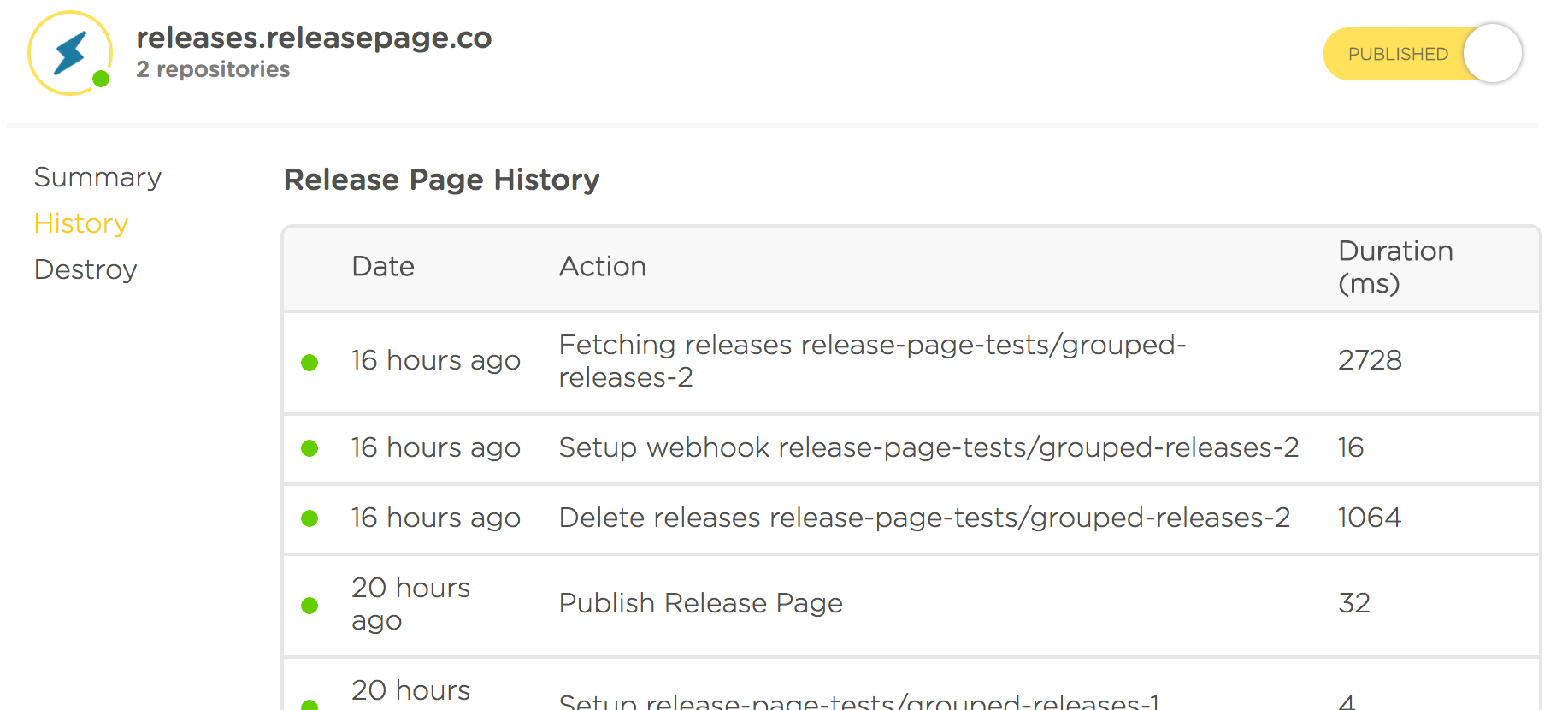 release-page-details-page-history-tab