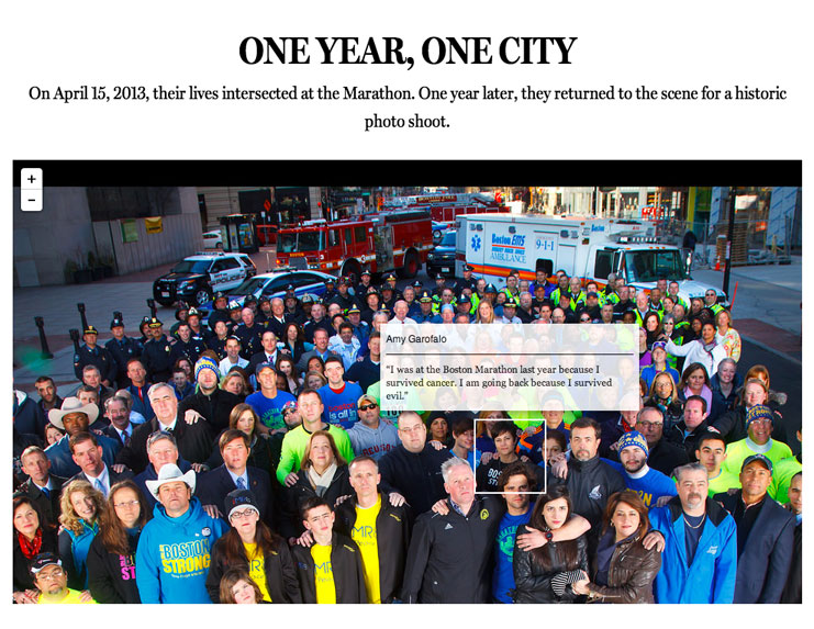 ONE YEAR, ONE CITY