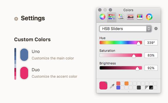 DuoTone custom colors
