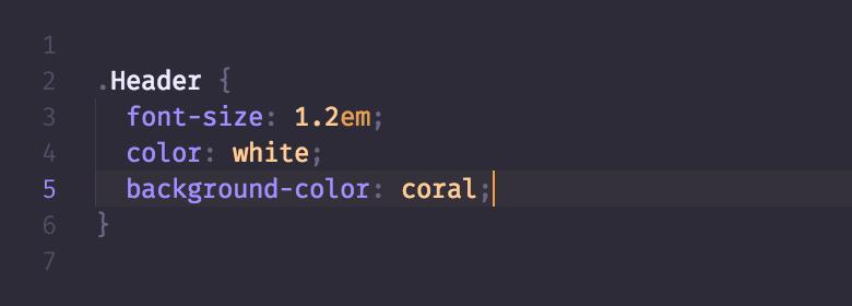 CSS in DuoTone dark
