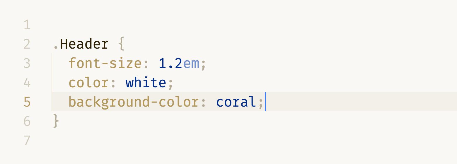 CSS in DuoTone light