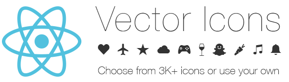 Vector Icons for React Native