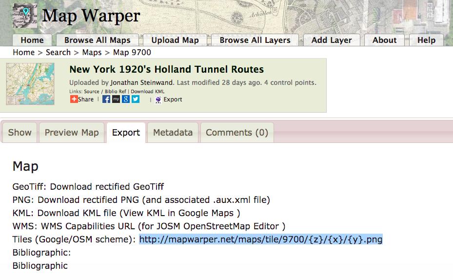 Map Warper