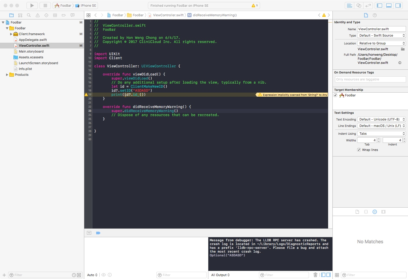 screenshot crash