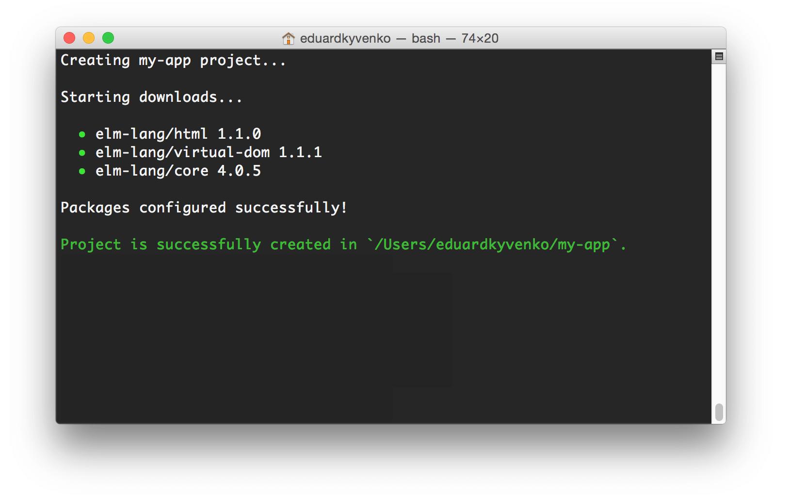 create-elm-app