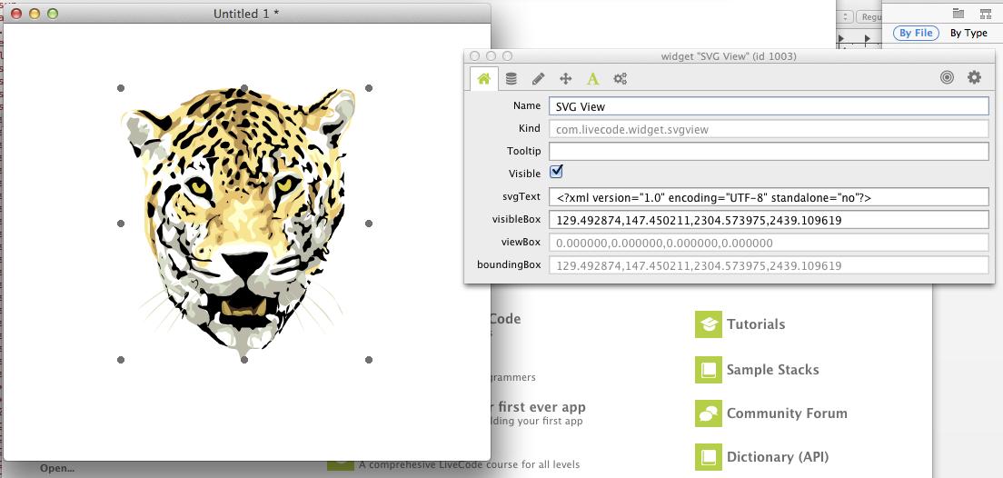 svg widget screenshot