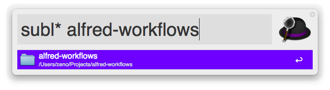 Sublime Workflow