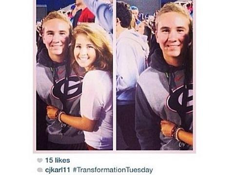 Instagram hashtag breakup