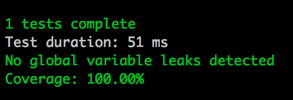 Hapi testing with Lab 100% coverage